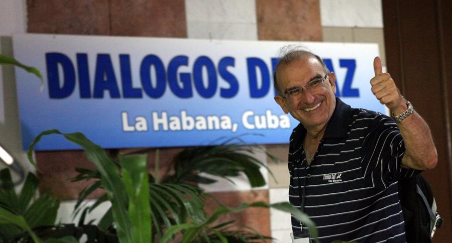 Humberto de la Calle, negociador del gobierno de Colombia. (Foto Prensa Libre: EFE)
