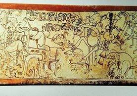 Algunos vestigios mayas del periodo Clásico tienen grabadas escenas del Popol Vuh. (Foto Hemeroteca PL)