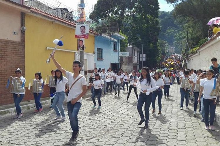 Prensentaciones de bandas escolares, teatro, danza y grafiti ofrecerá la tarde del sábado el Festival Conexión. (Foto Prensa Libre: Conexión)