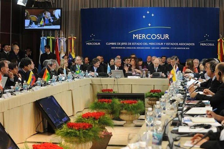 Mercosur cumple 25 años de su creación. (Foto Prensa Libre: hoy.com.do)