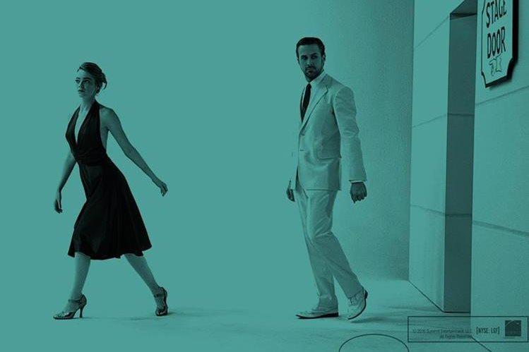 La película La, la land es una fuerte candidata para llevarse el Óscar a mejor película este año. Foto Prensa Libre: EFE