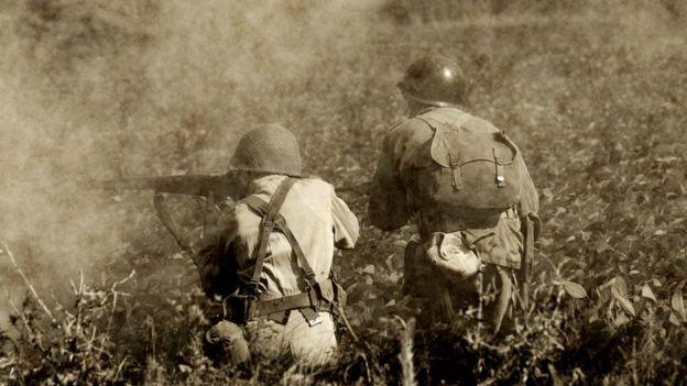 Durante la Segunda Guerra Mundial empezaron a aparecer quemaduras que no se habían visto. THINKSTOCK