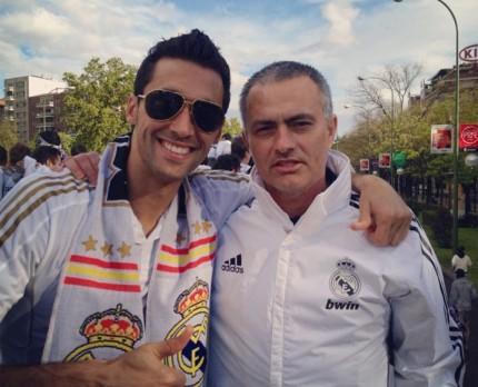 Arbeloa y Mourinho han sostenido una amistad desde que el luso pisó sueño madrileño en 2010. (Foto Prensa Libre: Hemeroteca)
