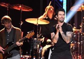 Maroon 5 anunció un concierto en Guatemala (Foto Prensa Libre: Hemeroteca PL).
