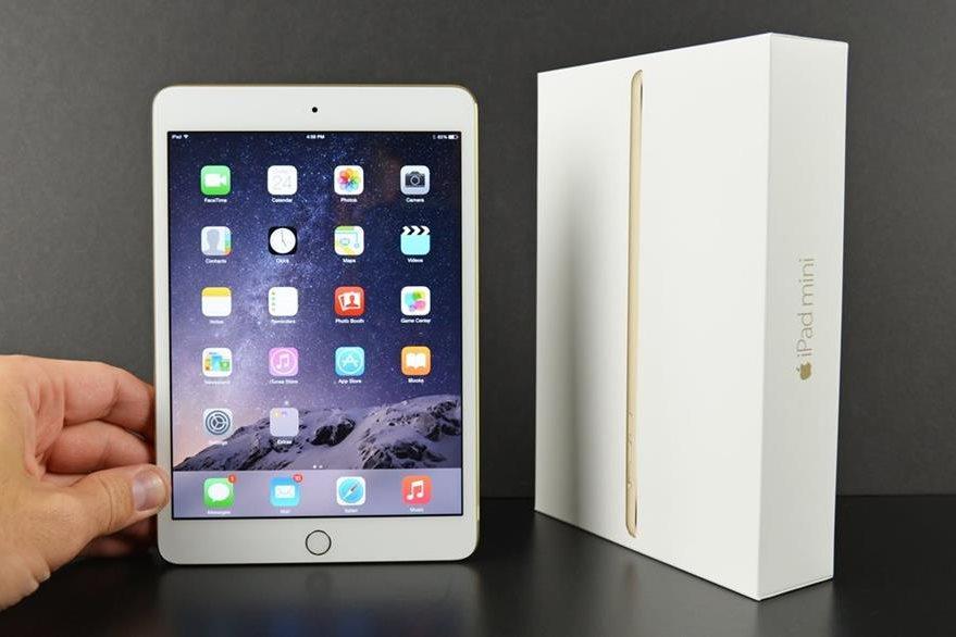 Jobs dijo que el iPad de  10 pulgadas era el tamaño ideal. Pero Apple lanzo el Ipad Mini. (Foto Prensa Libre: Tomada de Apple).