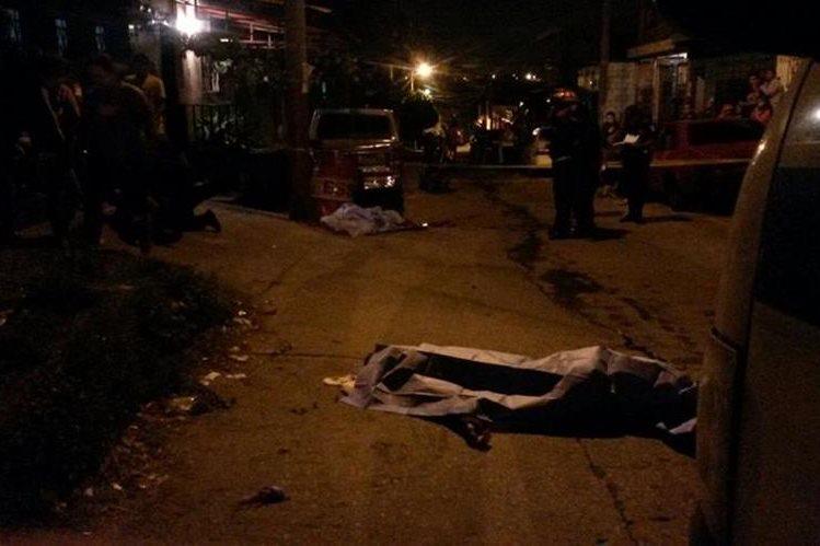 Uno de los hermanos Franco Sierra que murieron en la zona 8 Ciudad Peronia, Villa Nueva. (Foto Prensa Libre: Asonbomd)