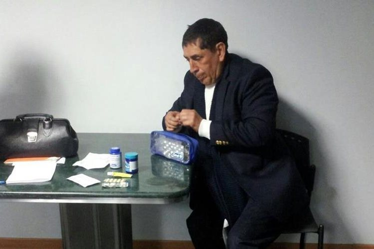 Brayan Jiménez ese prepara para ser extraditado a EE.UU. (Foto Prensa Libre: Cortesía PNC)