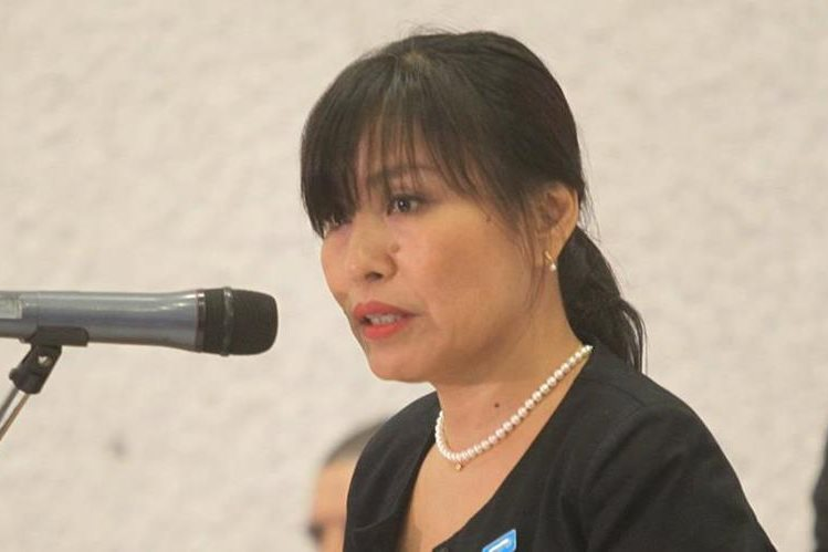 Mariko Kagoshima, representante adjunta de Unicef en Guatemala. (Foto Prensa Libre: Hemeroteca PL)