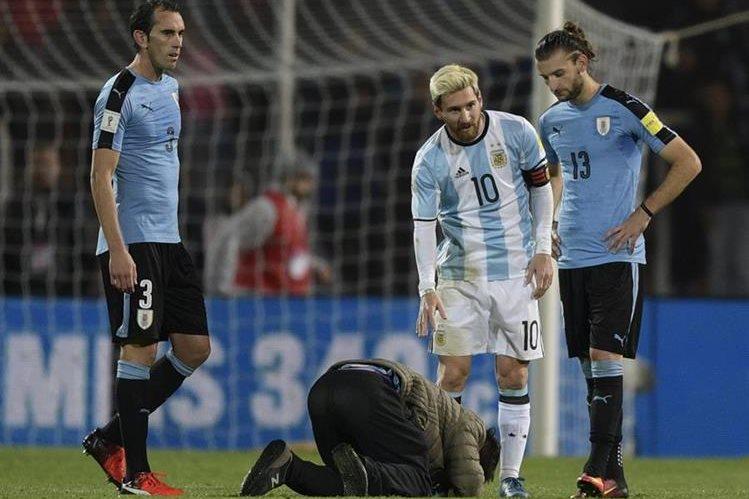 Los seguidores esperan que con Messi dentro de la cancha, Argentina clasifique a Rusia 2018. (Foto Prensa Libre: Hemeroteca PL)