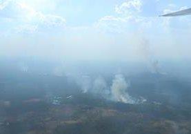 Incendios son provocados por comunidades que han invadido áreas protegidas. (Foto: Hemeroteca PL)