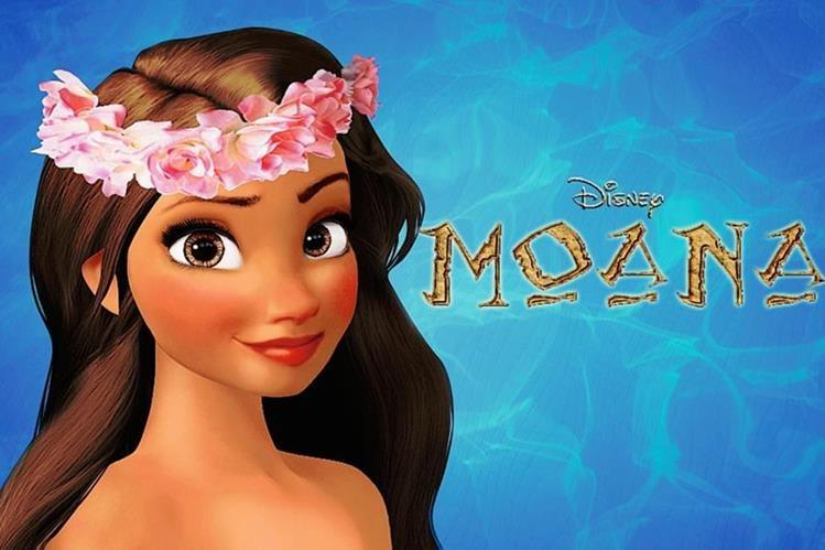 La historia de Moana llegará a los cines a finales del 2016. (Foto Prensa Libre: Hemeroteca PL)