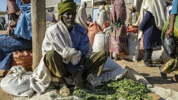 Masticar hojas de Khat causa efectos que algunos dicen son comparables a beber café fuerte. GETTY IMAGES