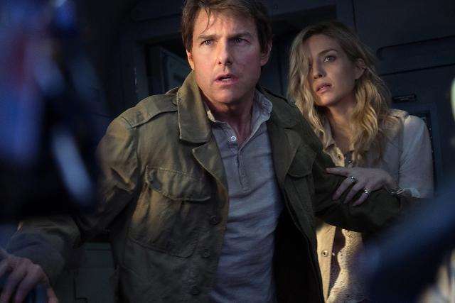 Nick Morton (Tom Cruise) tendrá que enfrentarse a dioses y monstruos. (Foto Prensa Libre: lamomia-lapelicula.com)