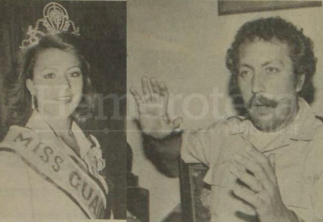 Miss Guatemala, Yuma Lobos y Vinicio Cerezo eran las personalidades que estaban por viajar en el vuelo con destino a Miami y quienes salieron ilesos del atentado en 1981.  (Foto: Hemeroteca PL)