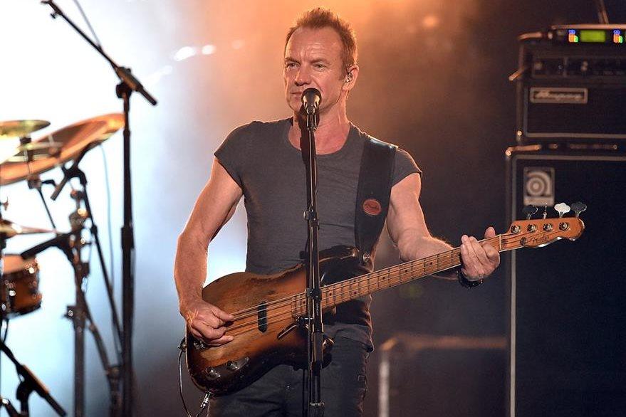 El cantante Sting recibió el premio al mérito y luego ofreció un intenso show musical. (Foto Prensa Libre: AFP).