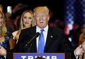 Trumpo ganó las primarias de Indiana y casi es el nominado.