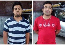 Los hermanos habrían apuñalados 17 veces a su víctima para robarle el auto. (Foto Prensa Libre: PNC)