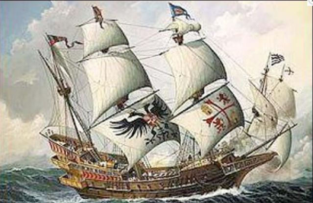 Ilustración del galeón San José, hundido hace 307 por piratas ingleses. (Foto: lagranepoca.com).