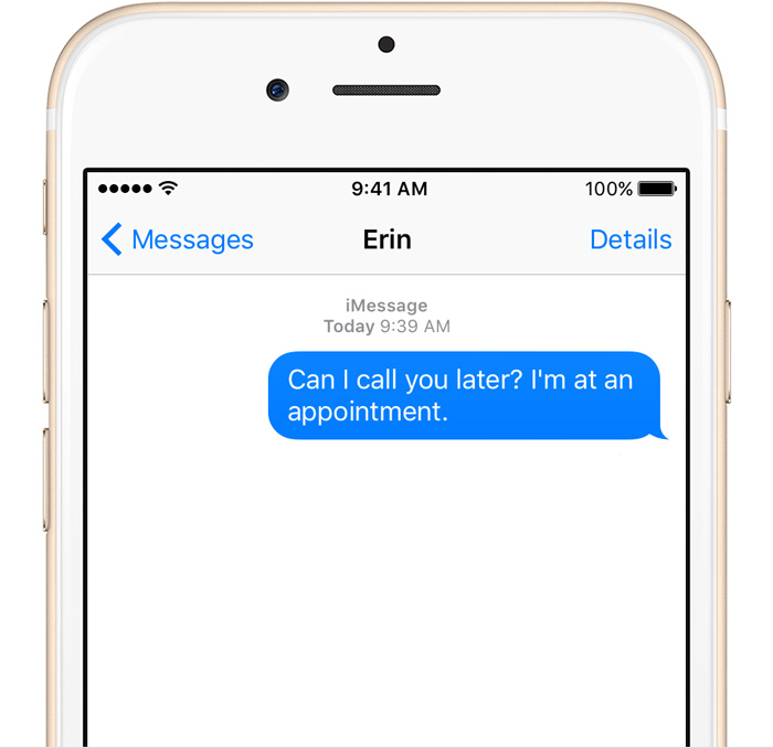 iMessage, plataforma de mensajería de Apple. (Foto: Hemeroteca PL).