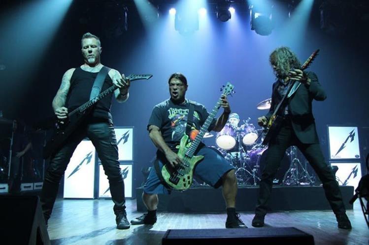 La banda estadounidense de thrash metal ofrecerá un concierto en el Estadio Cementos Progreso. (Foto Prensa Libre: Metallica)