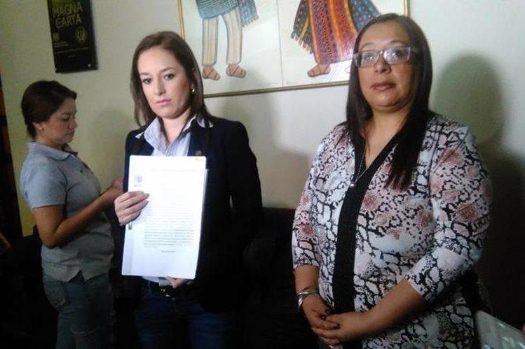 Diputada accionó contra el reglamento del Instituto Militar. (Foto Prensa Libre: Geldi Muñoz)