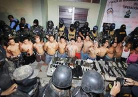 Pandilleros presuntos responsables del asesinato periodista hondureño Igor Padilla.