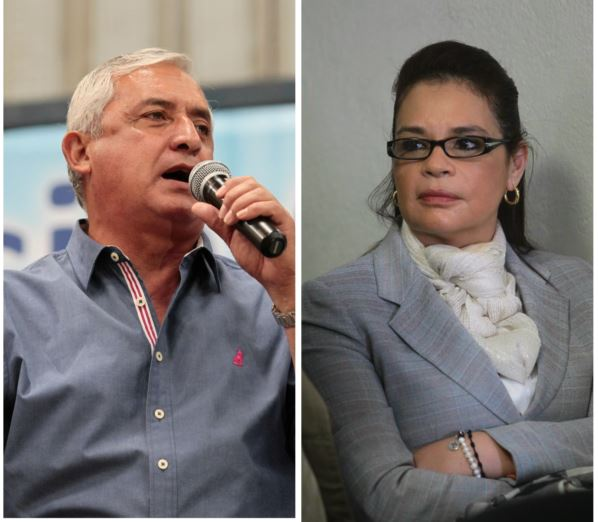El expresidente Otto Pérez Molina y la ex vicepresidenta Roxana Baldetti se verán de nuevo, en esta ocasión, en el juzgado de mayor Riesgo B. (Foto Prensa Libre:Hemeroteca PL)
