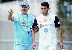 Édgar Chinchilla viajará el domingo a EE. UU. para unirse a la Bicolor. (Foto Prensa Libre).