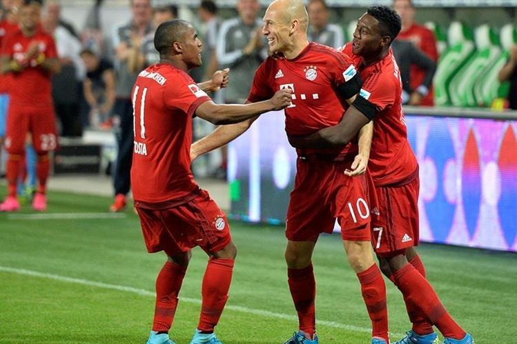 Robben es parte fundamental del ataque del Bayern Múnich. (Foto Prensa Libre: Hemeroteca)
