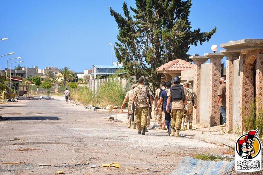 Sirte es el escenario de enfrentamientos entre fuerzas libias y uihadistas. (AFP)