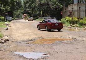 Las principales rutas del país necesitan reparación.
