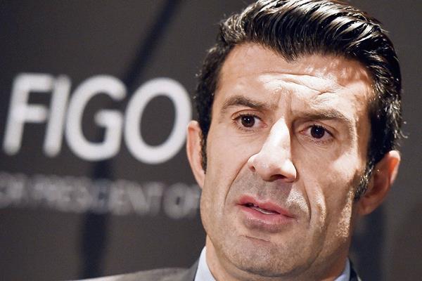 El ex jugador del Real Madrid y Barcelona aspira a la presidencia de FIFA. (Foto Prensa Libre: EFE).