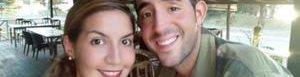 David Hernández y Marta Miguel.