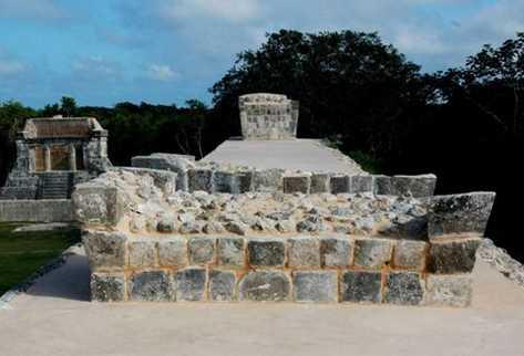 Gran Juego de Pelota ubicado en la zona arqueológica de Chichén Itzá. (Foto: EFE)