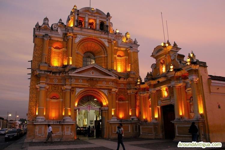 La ciudad colonial de la Antigua Guatemala es uno de los sitios más buscados. (Foto Prensa Libre: Hemeroteca PL)