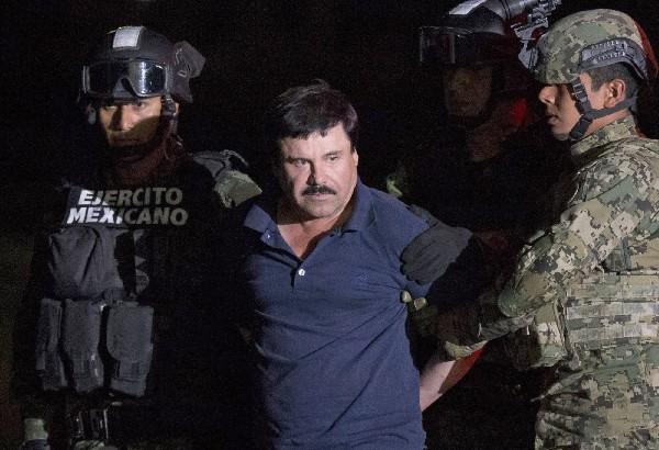 """Joaquín el """"Chapo"""" Guzmán espera ser extraditarlo a EE.UU.(AFP)."""