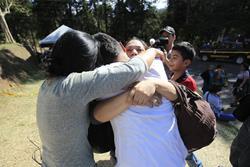 Cuarenta niñas han muerto por la tragedia en el Hogar Seguro. (Foto Prensa Libre: Hemeroteca PL)