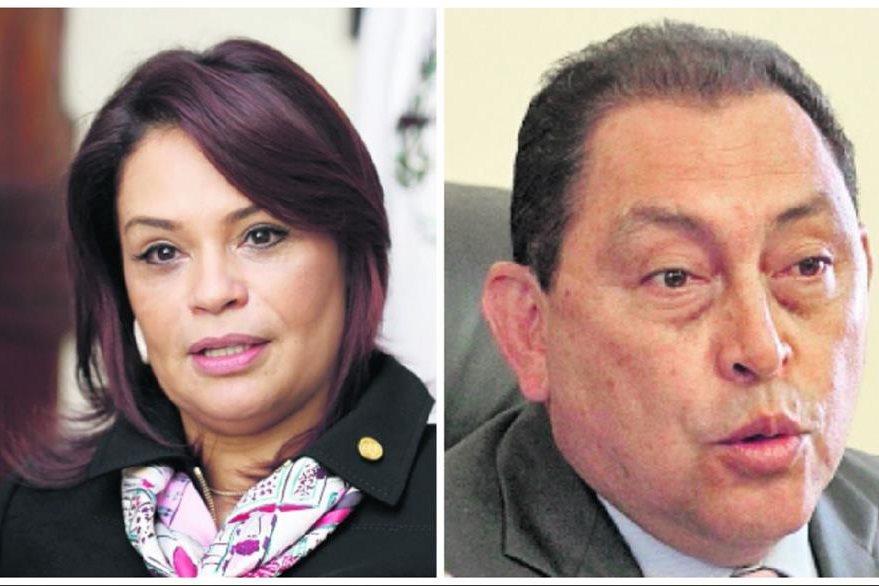 Roxana Baldetti y Mauricio López Bonilla son acusados de narcotráfico. (Foto Prensa Libre: Hemeroteca PL)