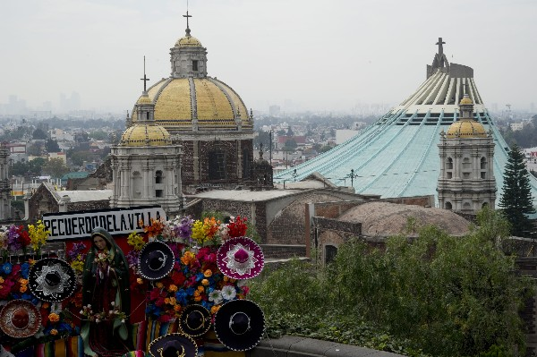 La Basílica de Guadalupe será visitada por del papa Francisco.