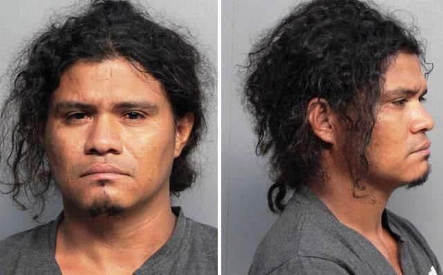 Rudy Lima es acusado del secuestro y violación de su vecina. (Foto Prensa Libre: Miami-Dade Corrections)