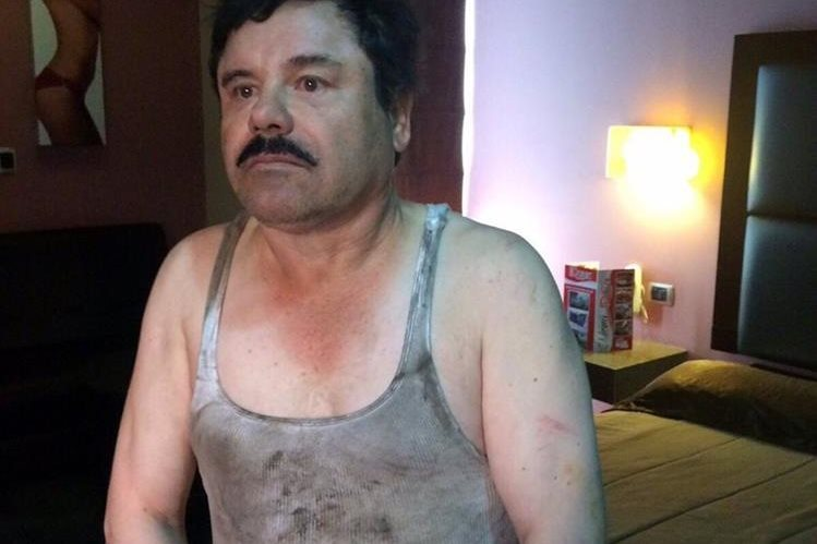 """La recaptura de Joaquín """"el Chapo"""" Guzmán reacomodará los distintos grupos del narcotráfico en el país (Foto Prensa Libre: Hemeroteca PL)."""