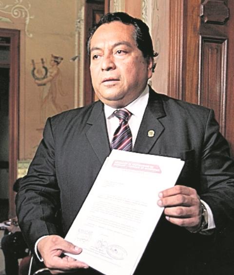 Falleció el abogado Luis Reyes, quien perdió la batalla contra el cáncer. (Foto Prensa Libre:Hemeroteca PL)