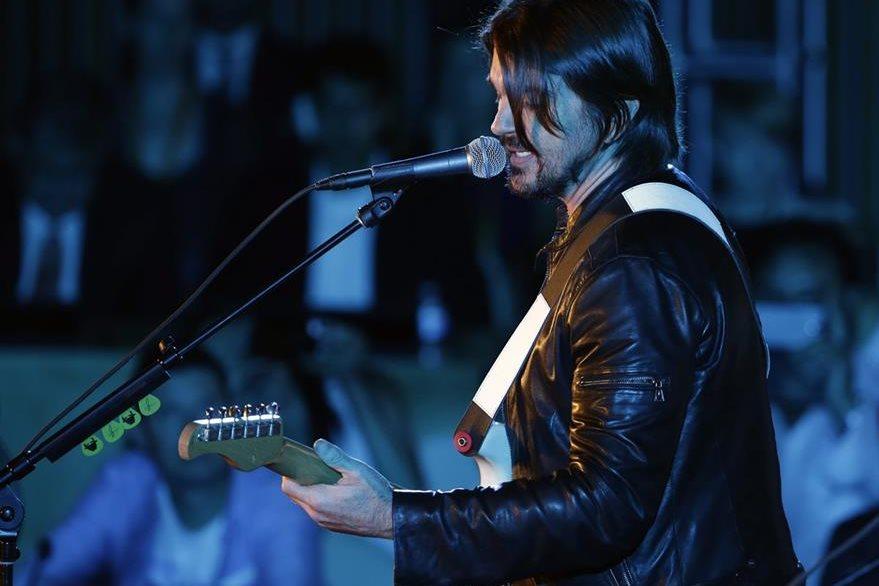 Juanes ofreció concierto por el Día Mundial de la Asistencia Humanitaria. (Foto Prensa Libre: EFE)
