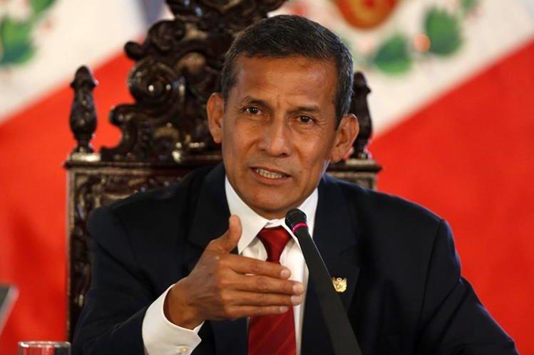 Ollanta Humala,expresidente de Perú.