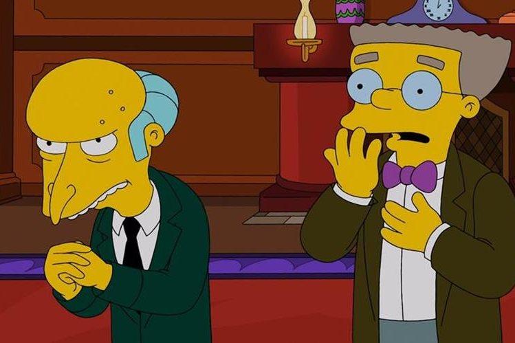 Un adelanto revela que Smithers renuncia como asistente del señor Burns. (Foto Prensa Libre: Hemeroteca PL)