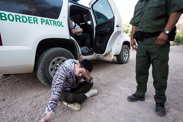 Este año subieron 39 por ciento detenciones en el país del norte, en relación con las del 2015. (Foto Prensa LIbre: Hemeroteca PL)
