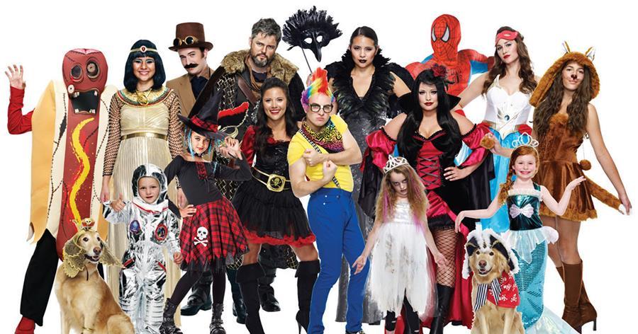 En Halloween probablemente tu disfraz se repita algunas veces, por eso es importante utilizar la creatividad para darle un toque personal y resaltar. (Foto Prensa Libre: Value Village).