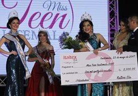 En una velada llena de belleza, fue elegida Miss Teen Guatemala 2017.