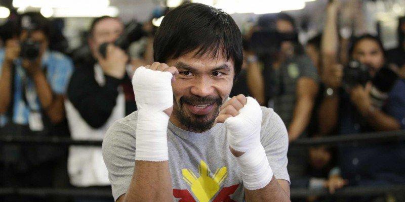 Manny Pacquiao volverá a boxear el 5 de noviembre contra Jessie Vargas. (Foto Prensa Libre).