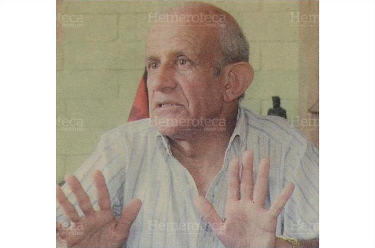 José Barnoya, cronista universitario de la Huelga de Dolores. (Foto: Hemeroteca PL)